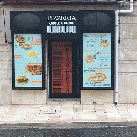 Codice A Barre Pizzeria