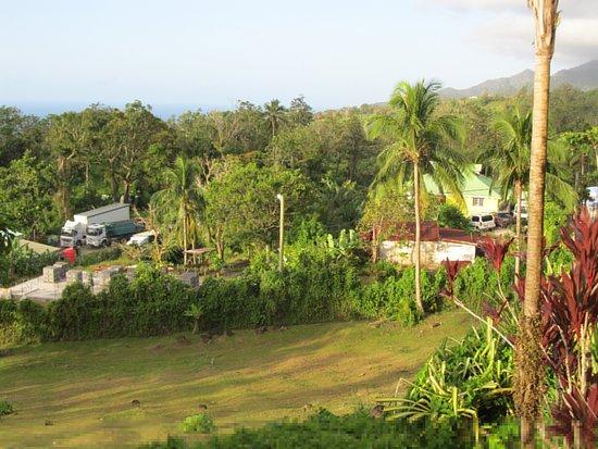 Le Jardin Malanga: View from pool