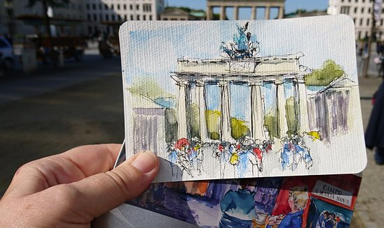 Sketching Berlin Tours