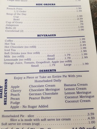 Marble Falls, TX: Pie Selection