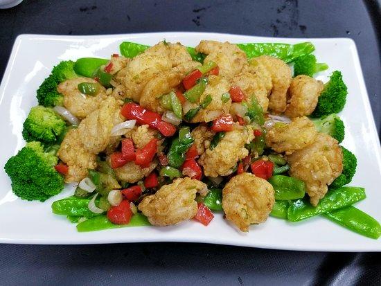 Marriottsville, MD: Salt & Pepper Shrimp