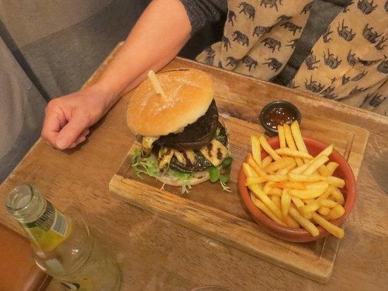 Minster, UK: Burger