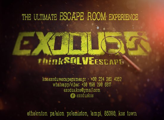 ‪Exodus Kos Escape Rooms‬