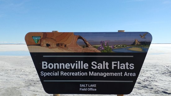 Wendover, UT: My pic of Bonneville sign