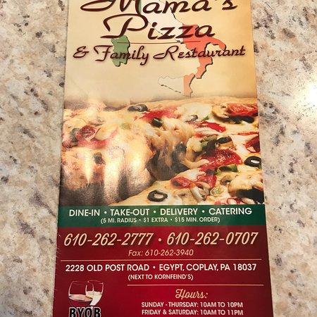 Coplay, PA: Mama's Pizza III
