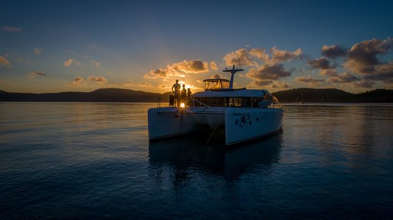 Airlie Beach, Australia: Another glorious sunset