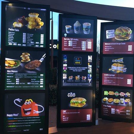 Rive-de-Gier, فرنسا: McDonald's