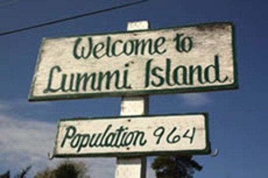 Welcome to Lummi Island.