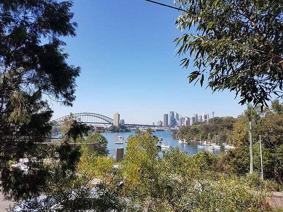 coal loader centre for sustainability: Sydney Harbour from The Coal Loader