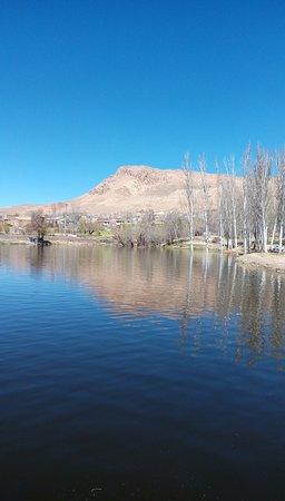 Semirom, Iran: Lake park