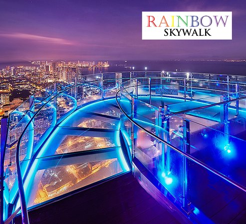 ‪The Rainbow Skywalk and Observatory Deck‬