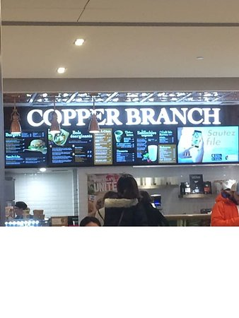 Copper Branch:  Place Laurier on the top floor   and nice vegan place