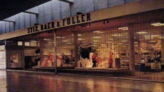 Jennings, Missouri: Stix, Baer & Fuller at River Roads Mall - Jennings, Missouri, 1970