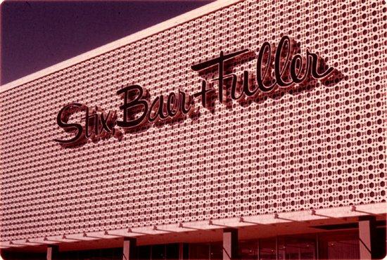 Jennings, Missouri: Stix, Baer & Fuller at River Roads Mall - Jennings, Missouri, 1962