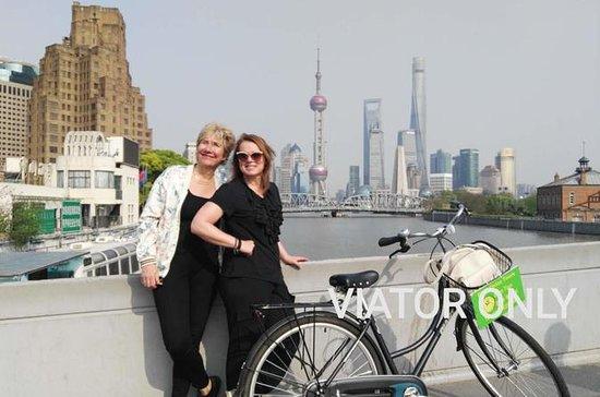 Recorrido en bicicleta por Shanghai...