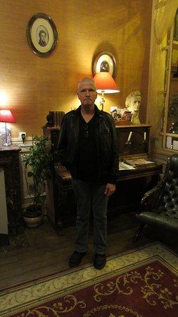 Hotel Chopin: lobby.