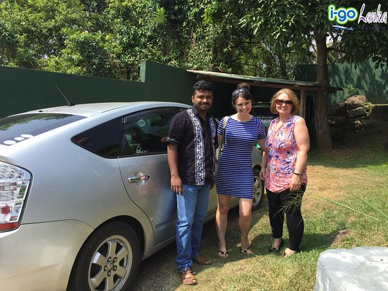 Katunayake, Sri Lanka: With UK Guests