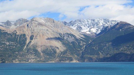 Mallin Grande, Chile: Puerto Cristal desde la Ruta 265