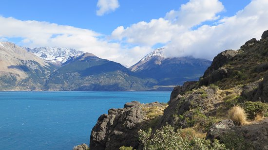 Mallin Grande, Chile: Lago carrera en Mallín Grande 1