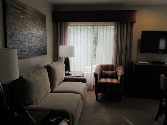 Bell Rock Inn: Pull out sofa