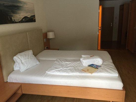 Schwanberg, Austria: eigentlich ein Einzelzimmer