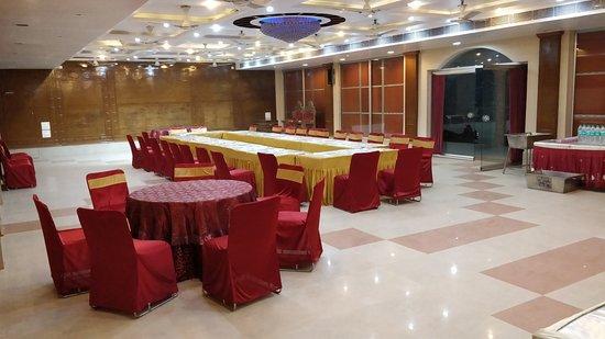 Motihari, India: banquet hall