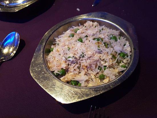 Cleobury Mortimer, UK: Special fried rice
