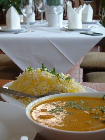 Haan, ألمانيا: Chicken Curry