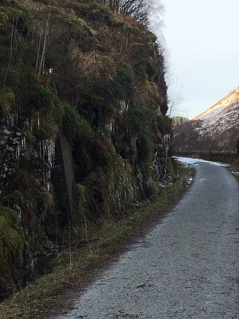 Lochearnhead, UK: Route towards viaduct