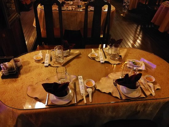 BestPrice Travel: table set on the boat