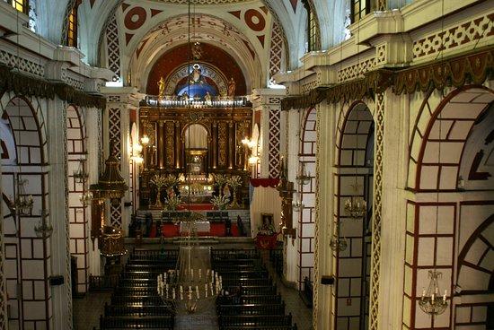 Iglesia y Convento de San Francisco: Le choeur de l'église