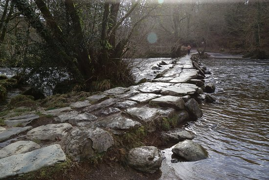 Exmoor National Park, UK: Tarr Steps March 2018