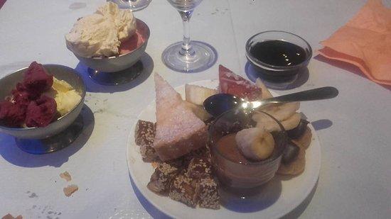 Ifs, Francja: Dessert