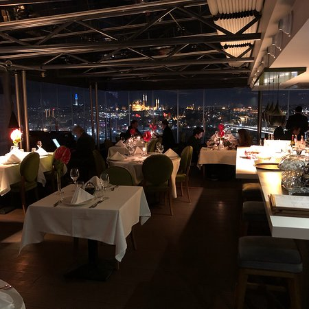 Anemon Galata: One of the few hotels that you can enjoy the roof in Galata . It has two views , one on the Gold