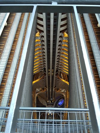 lobby from the top floor