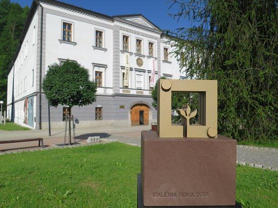 Dolny Kubin, Słowacja: Oravská galéria - Župný dom, Dolný Kubín