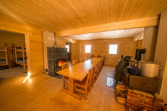 Muodoslompolo, Sweden: Our new forest cabin for 16 people