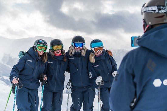 Verbier, Zwitserland: The Women's Camp coaches