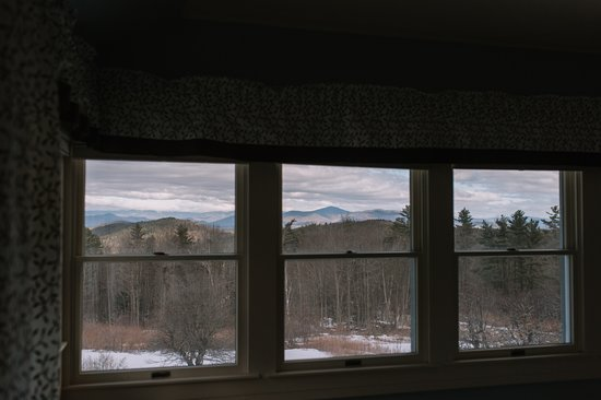 Eaton, NH: View from the Frost Suite in the Main Inn.