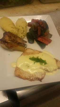 filet d eglefin sauce citronnée et ses petits légumes et fenouil