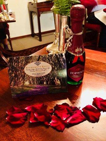 Birthday Spoils at Highgrove House