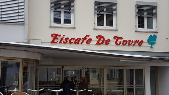 Eiscafe De Covre am Rossmarkt in Alzey