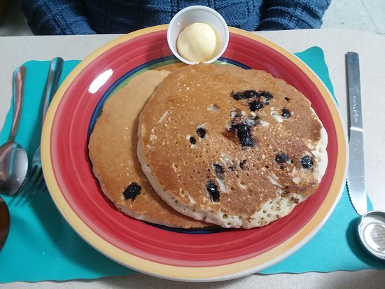 Taylor, PA: Blueberry Pancakes short stack