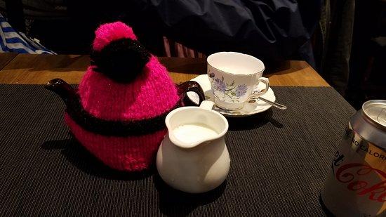 Mrs Macintyre's Coffee House: Our cute tea cozy