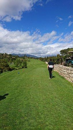 Chaparral Golf Club : Par 5 tee box