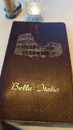 Kyllburg, Tyskland: Bella Italia Menu