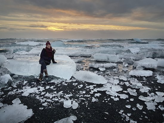 Diamond Beach South East Iceland Picture Of Stefan Tour Guide In