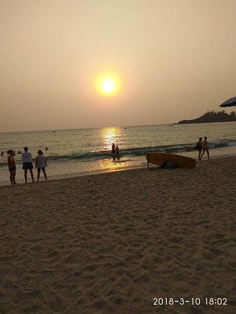 Unterkunft patnem beach