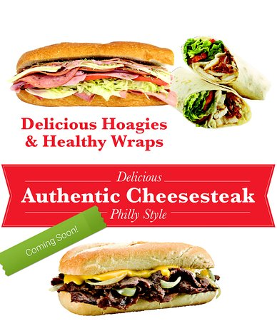 New Holland, PA: Try our delicious healthy hoagies, and coming soon... Authentic Philly Cheese Steaks!