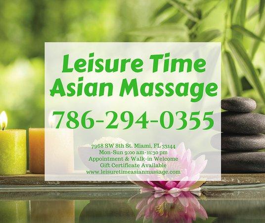 Leisure Time Asian Massage